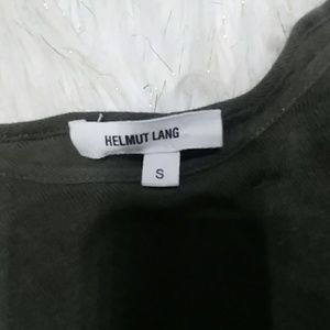 Helmut Lang Tops - HELMUT LANG ASYMMETRICAL LIGHTWEIGHT SWEATER TOP